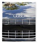 2012 Audi R8 Quattro Fleece Blanket