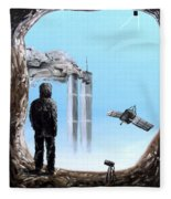 2012-confronting Inevitability Fleece Blanket