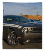 2012 Dodge Challenger R/t Classic Fleece Blanket