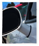 2012 Dodge Challenger White Rear View Mirror - 6023 Fleece Blanket