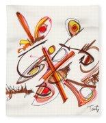 2012 Drawing #23 Fleece Blanket