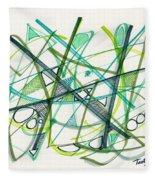2012 Drawing #34 Fleece Blanket