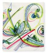 2012 Drawing #36 Fleece Blanket