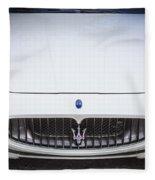 2012 Maserarti Gran Turismo S Fleece Blanket