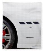 2012 Maserati Gran Turismo S Fleece Blanket