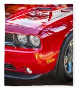 2013 Dodge Challenger Fleece Blanket