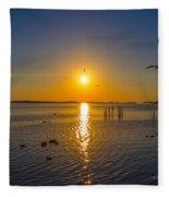 2014 03 02 01 Ft Walton Beach Fl Fleece Blanket