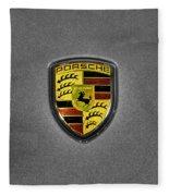 2014 Porsche Cayman S  Logo Fleece Blanket