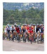 2014 Usa Pro Cycling Challenge Fleece Blanket
