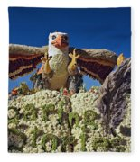 2015 Cal Poly Rose Parade Float 15rp055 Fleece Blanket