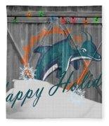 Miami Dolphins Fleece Blanket