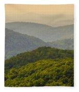 Scenery Around Lake Jocasse Gorge Fleece Blanket