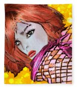 Lyne Fleece Blanket