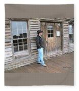 21st Century Cowboy Fleece Blanket
