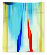 Abstract Series Iv Fleece Blanket