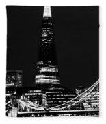 The Shard Fleece Blanket