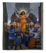 23. The Holy Spirit Arrives / From The Passion Of Christ - A Gay Vision Fleece Blanket