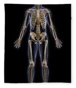 The Skeleton Fleece Blanket