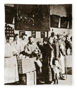Wwi Refugees, 1918 Fleece Blanket