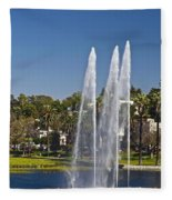 Echo Park L A Fleece Blanket