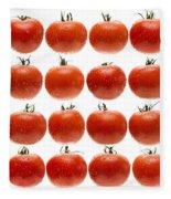 24 Tomatoes Fleece Blanket