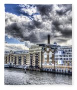 Butlers Wharf London Fleece Blanket