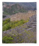 Great Wall Of China Fleece Blanket