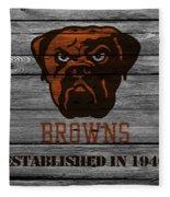 Cleveland Browns Fleece Blanket