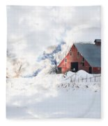 Idaho Falls Fleece Blanket