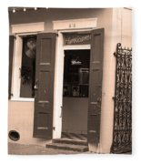 New Orleans - Bourbon Street 28 Fleece Blanket
