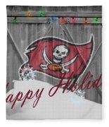 Tampa Bay Buccaneers Fleece Blanket by Joe Hamilton