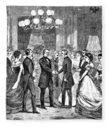 Andrew Johnson (1808-1875) Fleece Blanket