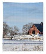 Idaho Falls Fleece Blanket