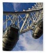 The London Eye Fleece Blanket