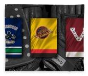 Vancouver Canucks Fleece Blanket