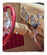 1936 Ford Cabriolet  Fleece Blanket