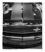 2008 Ford Shelby Mustang Gt500 Kr Painted Bw  Fleece Blanket