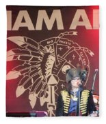 Adam Ant Fleece Blanket