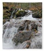 Alaskan Waterfall Fleece Blanket