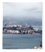 Alcatraz Fleece Blanket