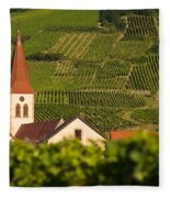 Alsace Church Fleece Blanket