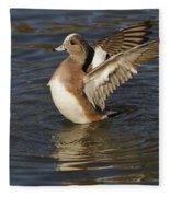 American Widgeon Fleece Blanket