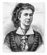 Ann Eliza Young (1844-1925) Fleece Blanket