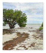 Anne's Beach-3 Fleece Blanket