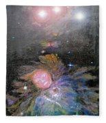 Aphrodite In Orion's Nebula Fleece Blanket