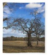 3 Appleton Trees Fleece Blanket