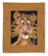 Tiger Art Fleece Blanket