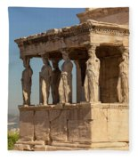 Athens, Attica, Greece. Porch Fleece Blanket