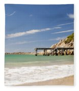 Australian Beach Fleece Blanket