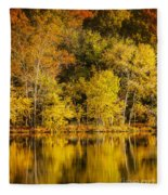 Autumn Color Fleece Blanket